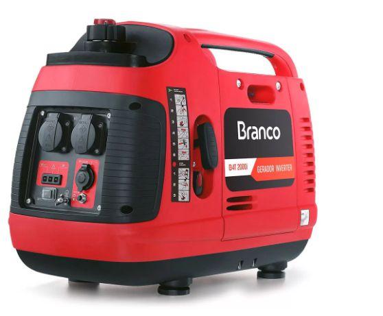 Gerador de Energia à Gasolina Inverter 4T 2,0KVA com Partida Manual - BRANCO-B4T2000I COD. 90314860