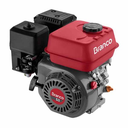 Motor a Gasolina 5.5 HP Branco B4T-5.5H