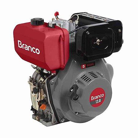 Motor A Diesel Branco BD-13.0 Partida Manual 456cc 13Cvotor BD-13.0