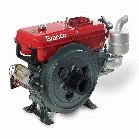 Motor Refrigerado A Agua Mt Bda-18.0t - Branco Motores 90315420