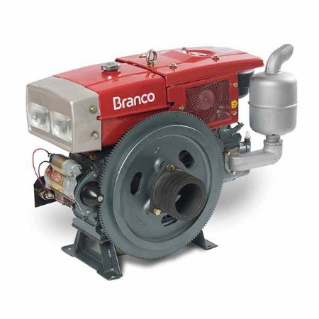 Motor A Diesel Branco BDA-22.0RAE 22Cv 1195cc Partida Elétrica
