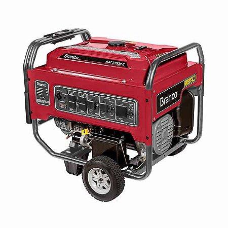 Gerador De Energia A Gasolina Branco B4T-12000 E 10.5Kw Monofásico