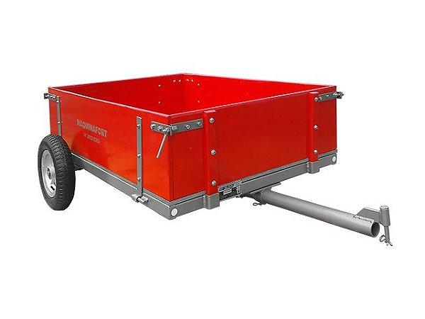 Carreta p/ Trator cortador de grama 1300T -  c/ pneu aro 8