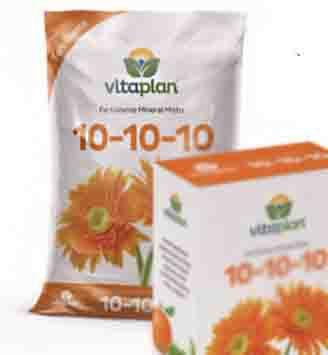 NPK 10-10-10 FLORAÇÃO FLORES- MUDAS 1KG -VITAPLAN-8000202