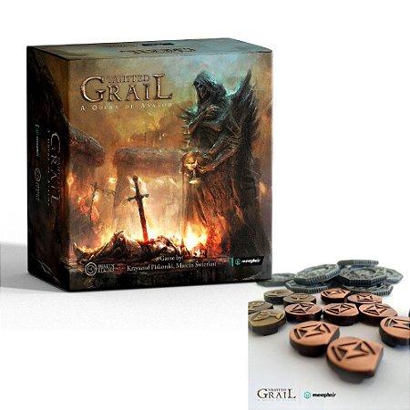 Tainted Grail + Kit de Moedas e Marcadores de Metal