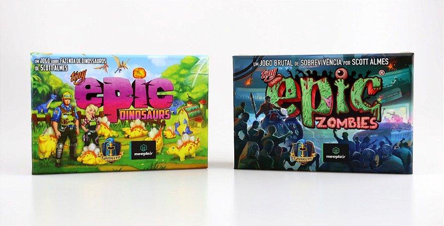 Tiny Epic Dinosaurs + Zombies