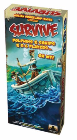 Expansão Survive: Dolphins & Squids & 5-6 Players...Oh My!