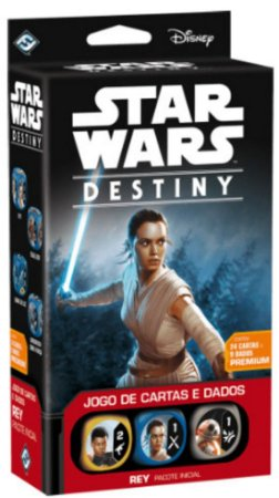 Star Wars Destiny Pacote Inicial Rey