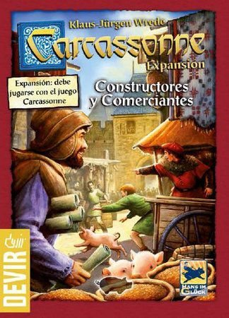 Carcassonne Construtores e Comerciantes 2ª Edição- Expansão