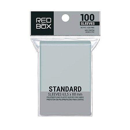 Sleeves Redbox- Padrão (63,5x88mm)