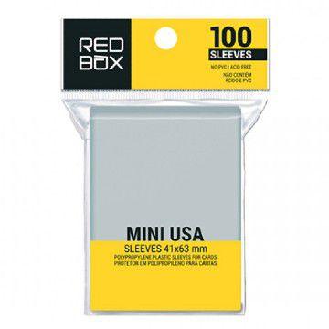 Sleeves Redbox- Mini USA (41x63mm)