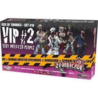 Box of Zombies- SET #10- VIP 2- Very Infected People- Expansão Zombicide