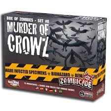 Box of Zombies- SET #8- Murder of Crows- Expansão Zombicide