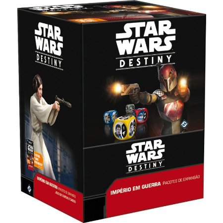 Star Wars Destiny- Império em Guerra Caixa Fechada