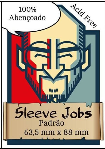 Sleeve Jobs - 63,5x88mm Padrão- 100 unid.