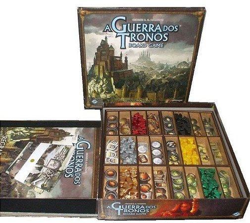 Insert Guerra dos Tronos Board Game 2ª Edição