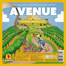 Bloco de Mapas Modelo B -  Avenue
