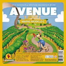 Bloco de Mapas Modelo C -  Avenue