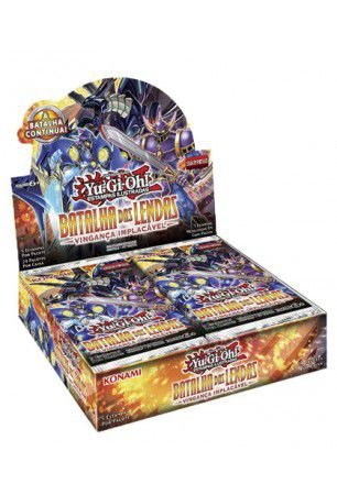 Yu-Gi-Oh! Batalha das Lendas- Vingança Implacável- BOX