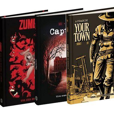 Combo: A Cidade de Your Town + Captive + Zumbis!
