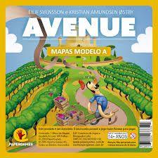 Bloco de Mapas avulso-  Avenue