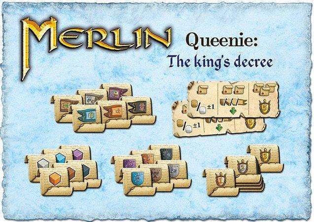 Queenie 2 O Decreto do Rei para o jogo Merlin