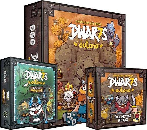 Combo Dwar7s+ Expansão Impérios+ Expansão Decretos Reais