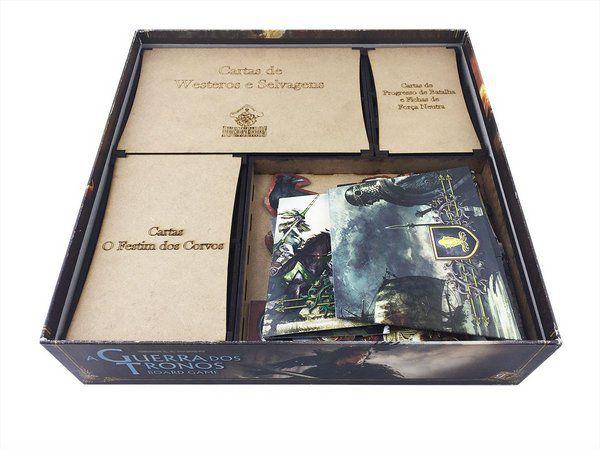 Organizador (Insert) para Game of Thrones (Guerra dos Tronos)