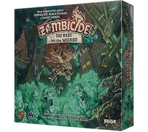 Zombicide No Rest for the Wicked (Expansão)
