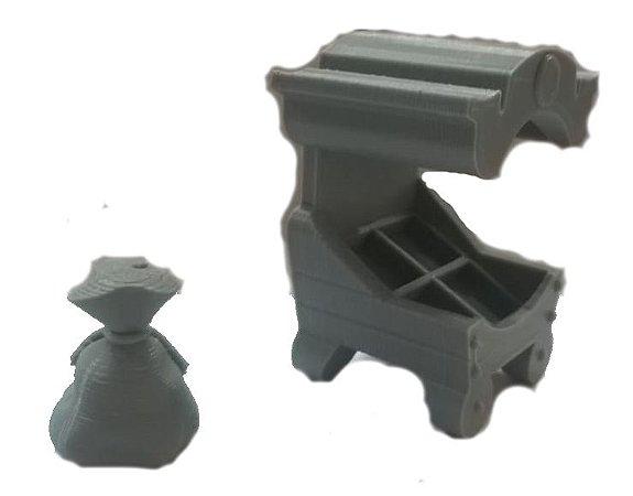 Kit Bonta- Krosmaster Arena 2.0- 3D - com caixotes