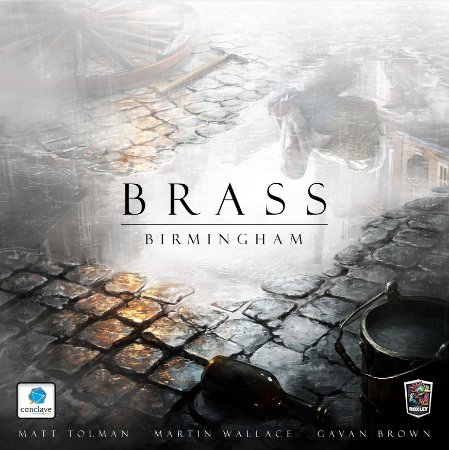 Brass: Bimingham + Sleeves Grátis