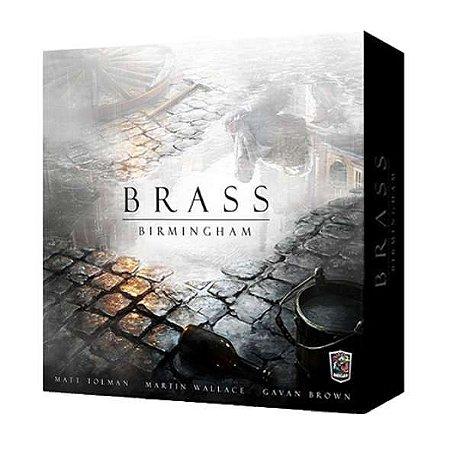 Brass: Birmingham + 112 Miniaturas Exclusivas + Sleeves Grátis