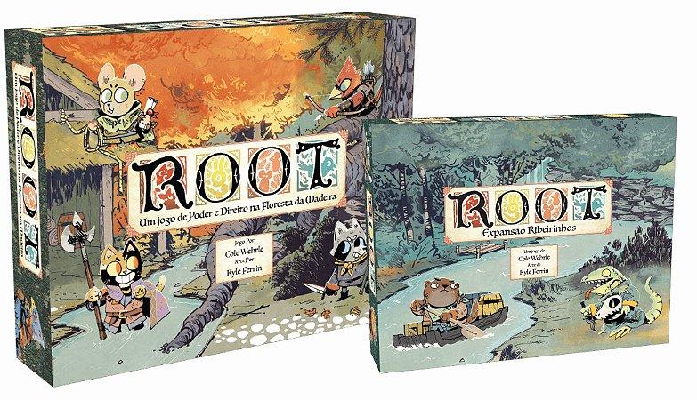 Root + Expansão Ribeirinhos + Sleeves e Brinde: 1 Card Holder Exclusivo (Pré venda)