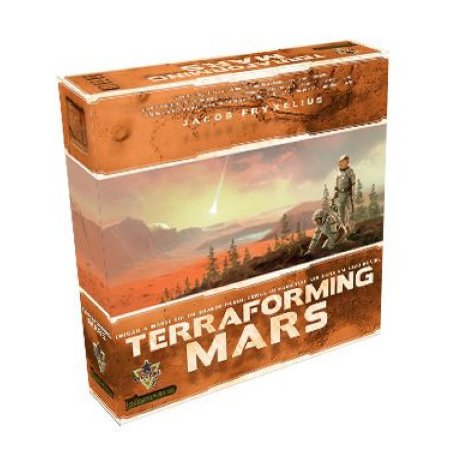 Terraforming Mars + Sleeves Grátis (Pré venda)