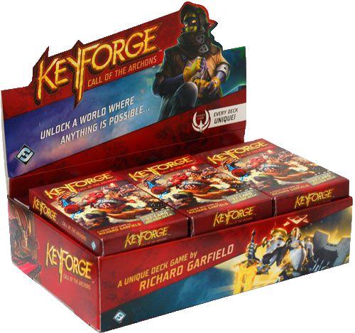 Keyforge Caixa com 12 Decks