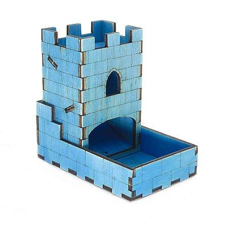 Torre de Dados Azul Pequena