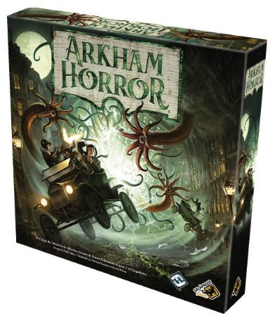Arkham Horror Boardgame 3ª Edição - Grátis: 1 Cardholder