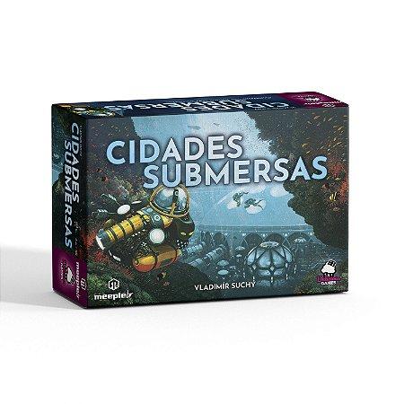 Cidades Submersas + Miniaturas de Submarinos Grátis (Pré-venda)