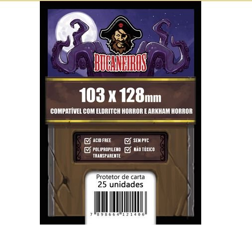 Sleeve Bucaneiros Customizado- Eldritch Horror/ Arkham Horror (103x128mm)