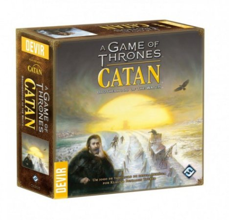 Catan  Game of Thrones + Sleeves Grátis