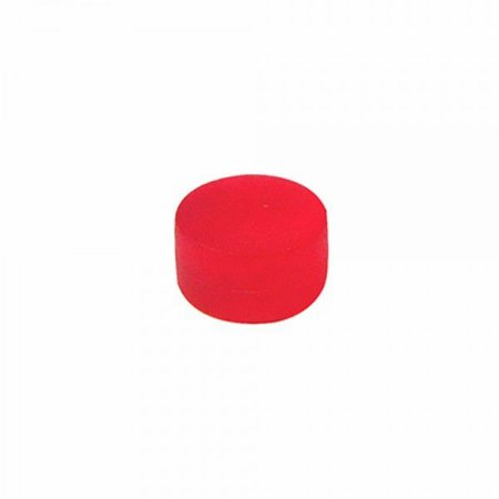 Marcador Pingo Plástico Vermelho - 10x10x6mm (Kit com 10 unidades)