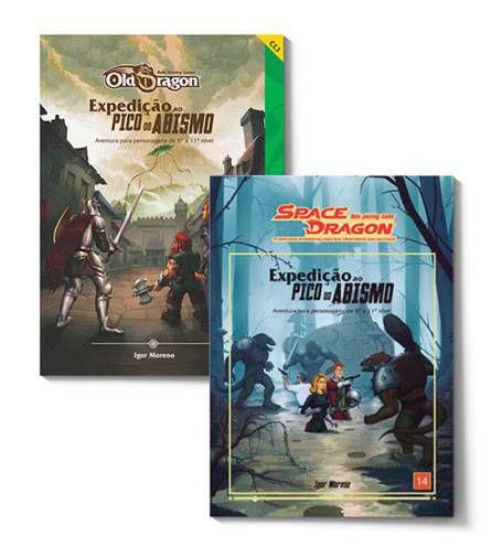 Expedição ao Pico do Abismo - Uma aventura em dose dupla para Old Dragon e Space Dragon!
