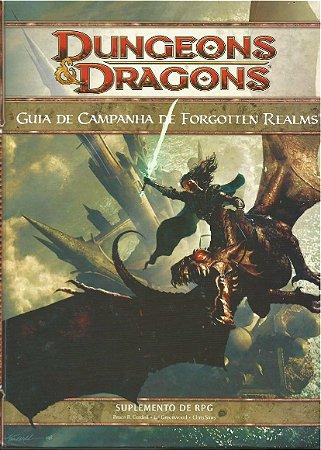 Dungeons & Dragons - Guia De Campanha De Forgotten Realms