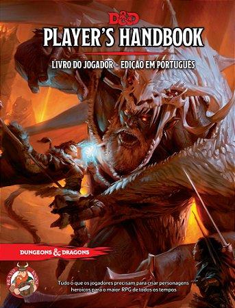 Dungeons & Dragons - Livro do Jogador - Grátis 4 Tokens de Inspiração em 3D