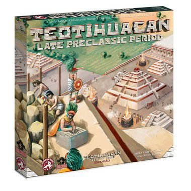 Teotihuacan: Late Preclassic Period + 5 Promos + kit com 10 Cacaus (Pré-venda)