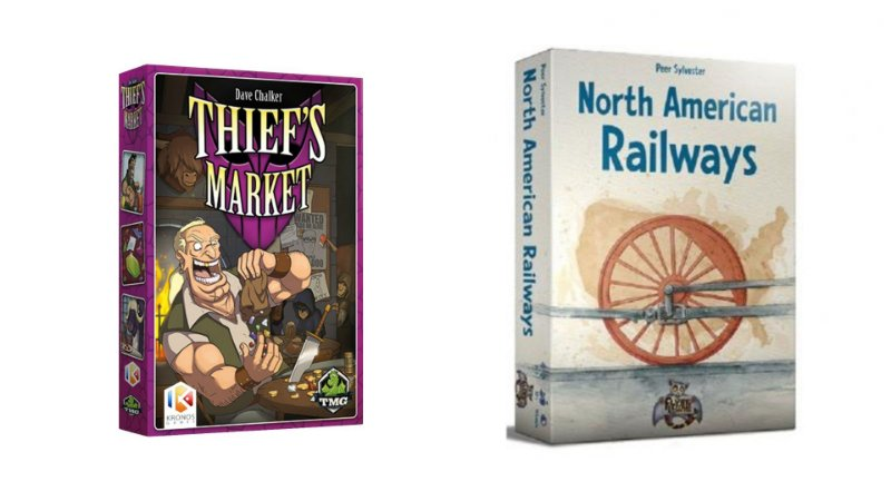 Combo: North American Railways + Thiefs Market