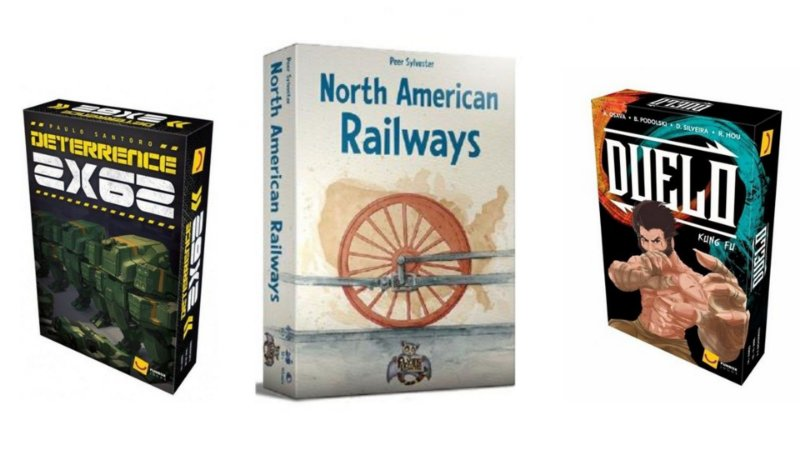 Combo: North American Railways + Duelo + Deterrence 2X62