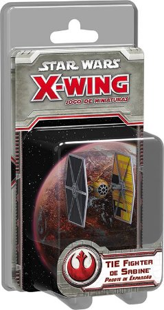 Star Wars X-Wing Tie Fighter De Sabine