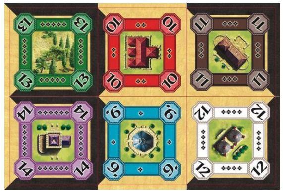 Alhambra Promo Pack - As Medinas e Construções Mágicas