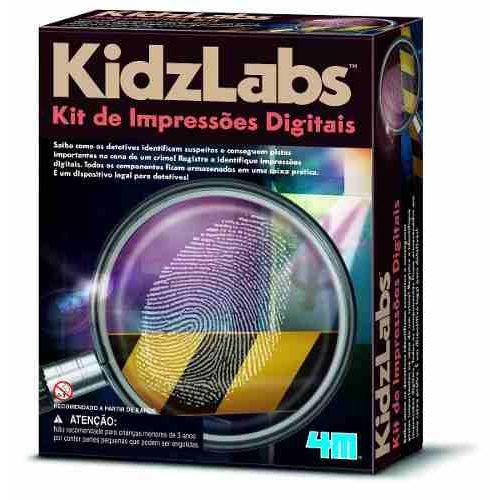 Kit De Impressões Digitais -  Briquedo Educativo